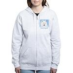 Samoyed Puppy Women's Zip Hoodie