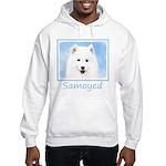 Samoyed Puppy Hooded Sweatshirt
