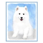 Samoyed Puppy Small Poster