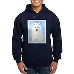 Samoyed Puppy Hoodie (dark)