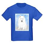 Samoyed Puppy Kids Dark T-Shirt