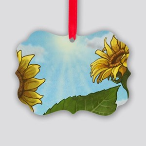 Daisy Picture Ornament