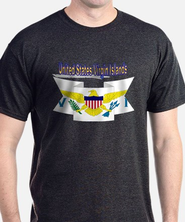 us virgin islands ribbon T-Shirt