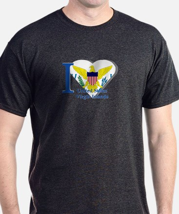 I love US VI flag T-Shirt