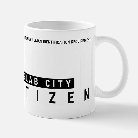 Slab City Citizen Barcode, Mug