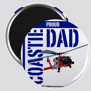 Love my Coastie - Proud Dad - Helo Magnet