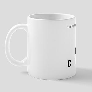 Normal Citizen Barcode, Mug