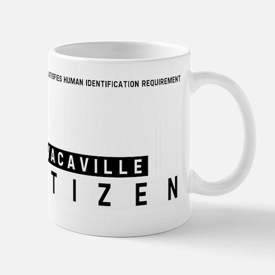 Vacaville Citizen Barcode, Mug