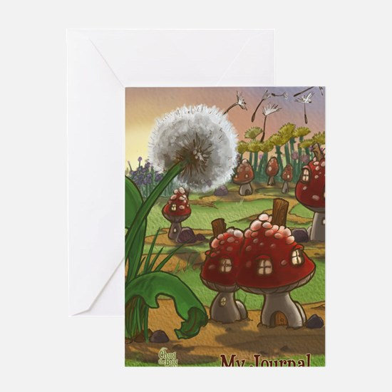 Dandelion Journal Greeting Card