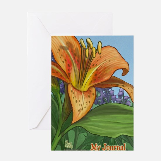 Tiger Lily Journal Greeting Card