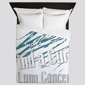 End the Stigma! (dark) Queen Duvet