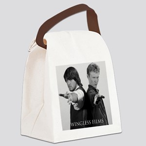 Jim  Tom Canvas Lunch Bag