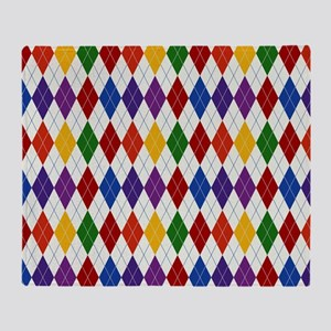 Rainbow Argile Throw Blanket
