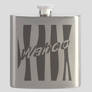 Wahoo Stripe Mod Flask