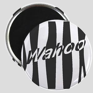 Wahoo Stripe Mod Magnet