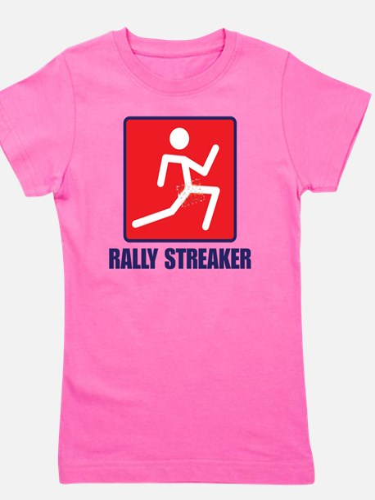 Rally Streaker Girl's Tee