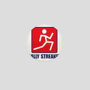 Rally Streaker Mini Button