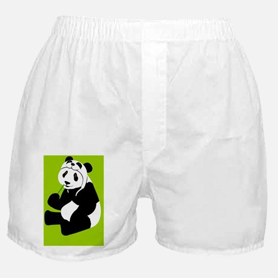 pandahat_butt_G Boxer Shorts