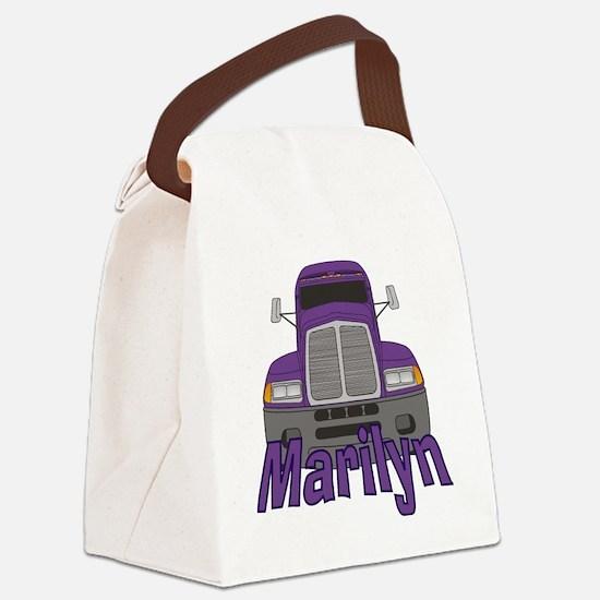 marilyn-g-trucker Canvas Lunch Bag