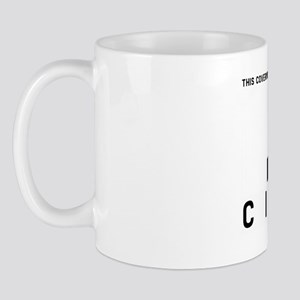 Stet Citizen Barcode, Mug
