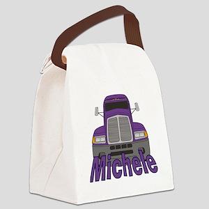 michele-g-trucker Canvas Lunch Bag
