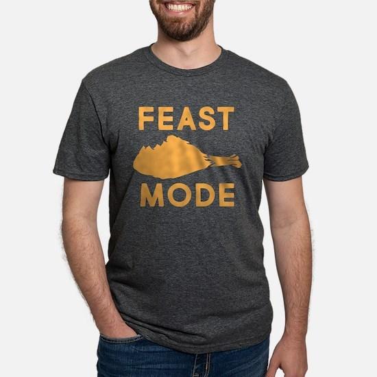 Feast Mode Mens Tri-blend T-Shirt