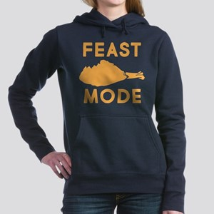 Feast Mode Women's Hooded Sweatshirt