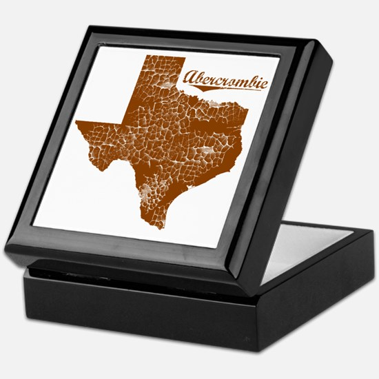 Abercrombie, Texas (Search Any City!) Keepsake Box