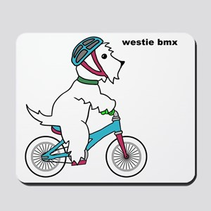 westie bmx Mousepad