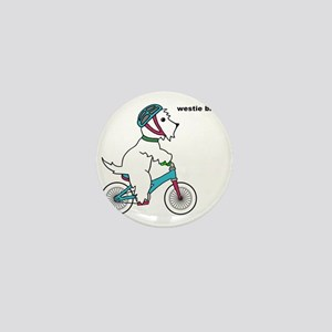 westie bmx Mini Button