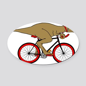 Velodrome Raptor Oval Car Magnet
