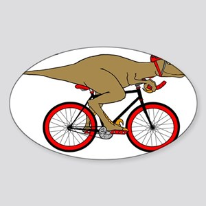 Velodrome Raptor Sticker (Oval)