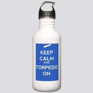 Keep Calm and Torpedo  Stainless Water Bottle 1.0L