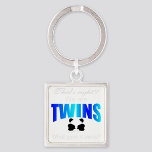 cute twins gift Square Keychain