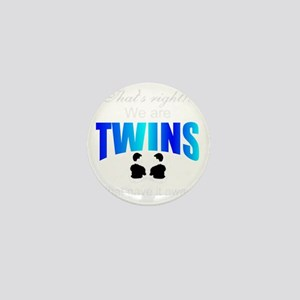 cute twins gift Mini Button