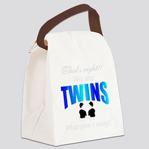 cute twins gift Canvas Lunch Bag
