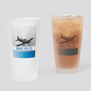Aircraft Vans RV-10 Drinking Glass