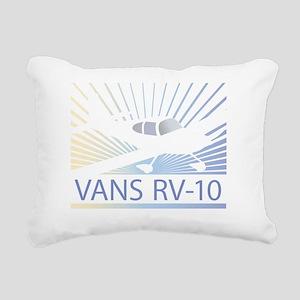 Aircraft Vans RV-10 Rectangular Canvas Pillow
