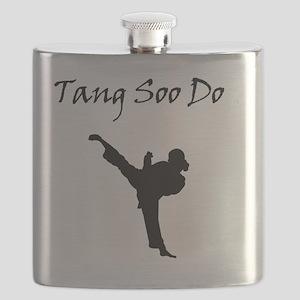 Tang Soo Do Girl Flask