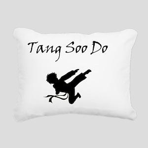 Tand Soo Do boy Rectangular Canvas Pillow