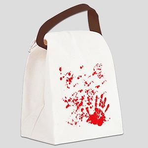 flesh wound Canvas Lunch Bag