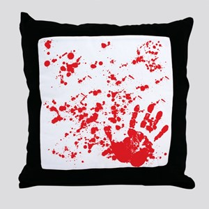 flesh wound Throw Pillow