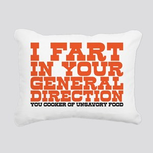 I fart Rectangular Canvas Pillow