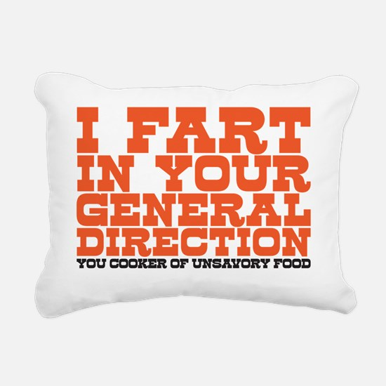 I fart Rectangular Canvas Pillow