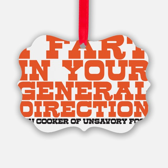 I fart Ornament