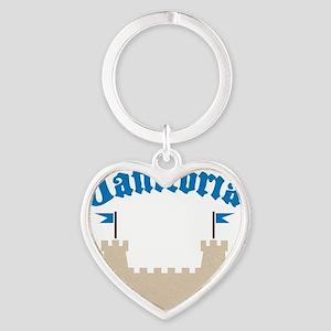janitoria Heart Keychain