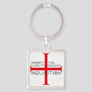 spanish inquisition Square Keychain