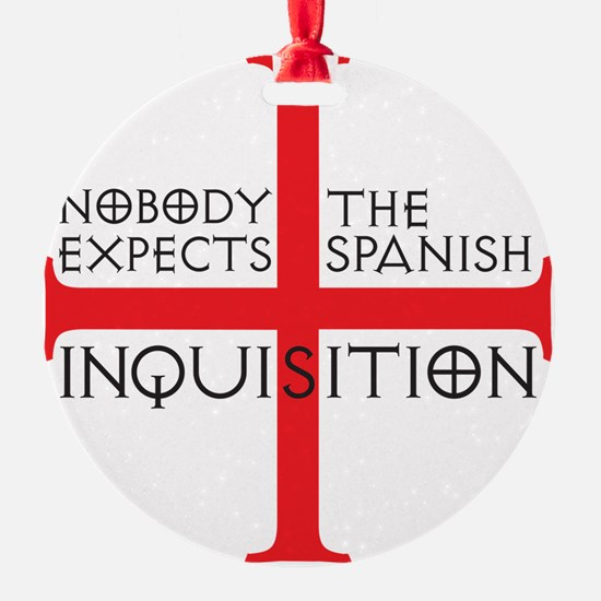 spanish inquisition Ornament
