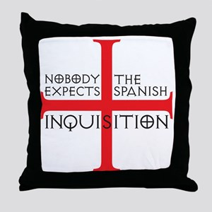 spanish inquisition Throw Pillow