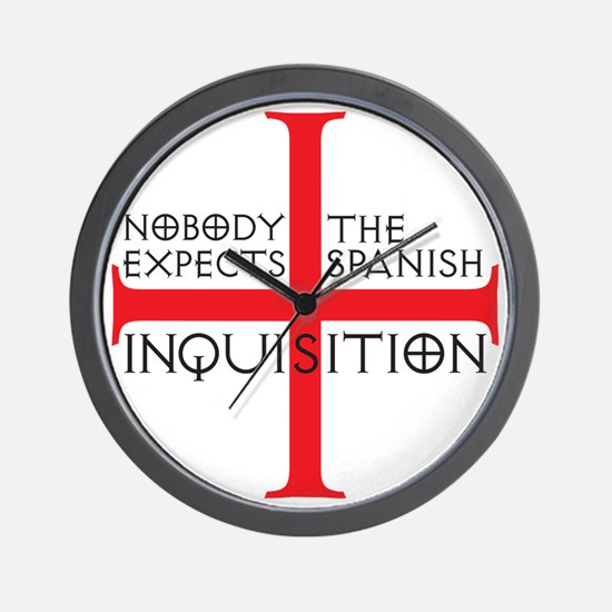spanish inquisition Wall Clock